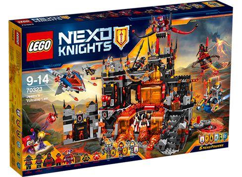 LEGO NEXO KNIGHTS 70323 Jestros vulkanleir