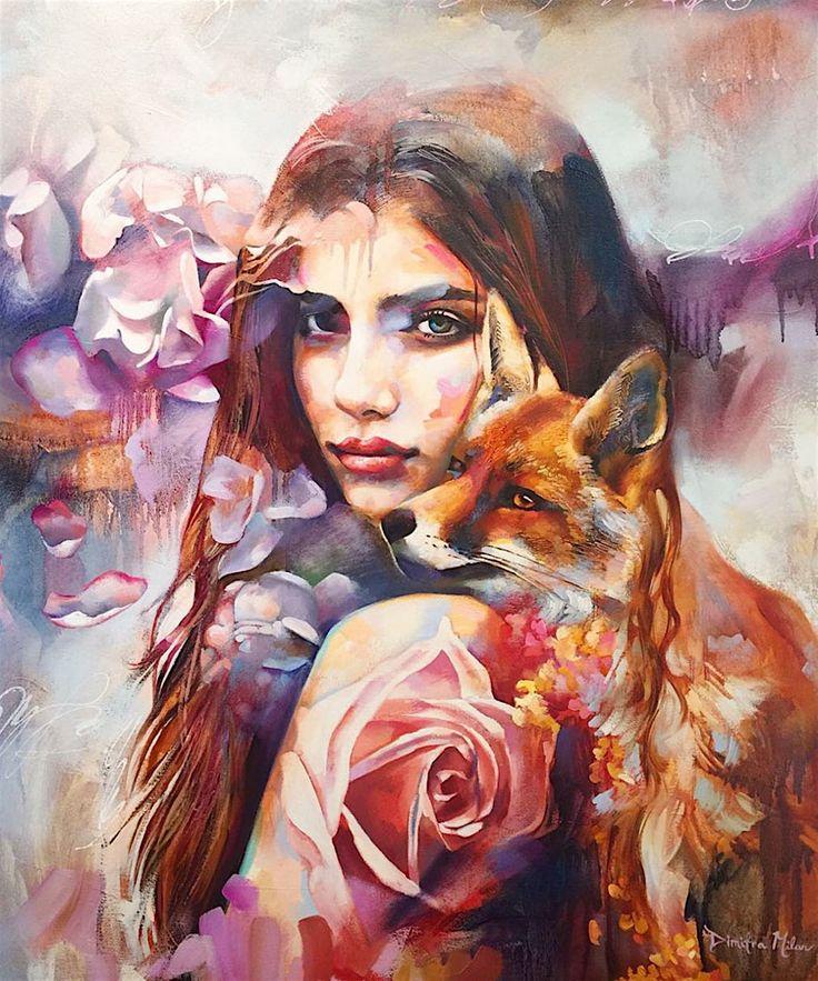 Bemerkenswerte Künstlerin: 16-Jährige begeistert mit ihrer Malerei – Frieda StehtKopf