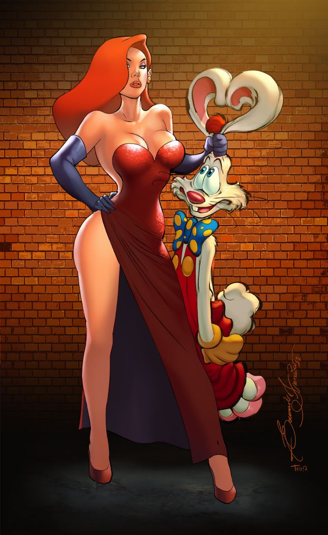 Cartoon Characters Jessica Rabbit : Best roger rabbit images on pinterest jessica