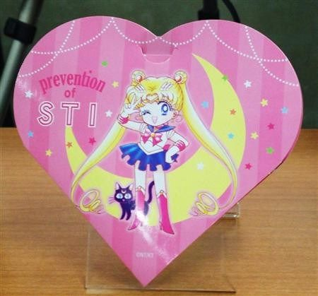 Japan's Health Ministry is giving away official Sailor Moon Condoms for STI/STD awareness - http://wowjapan.asia/2016/11/japans-health-ministry-giving-away-official-sailor-moon-condoms-stistd-awareness/