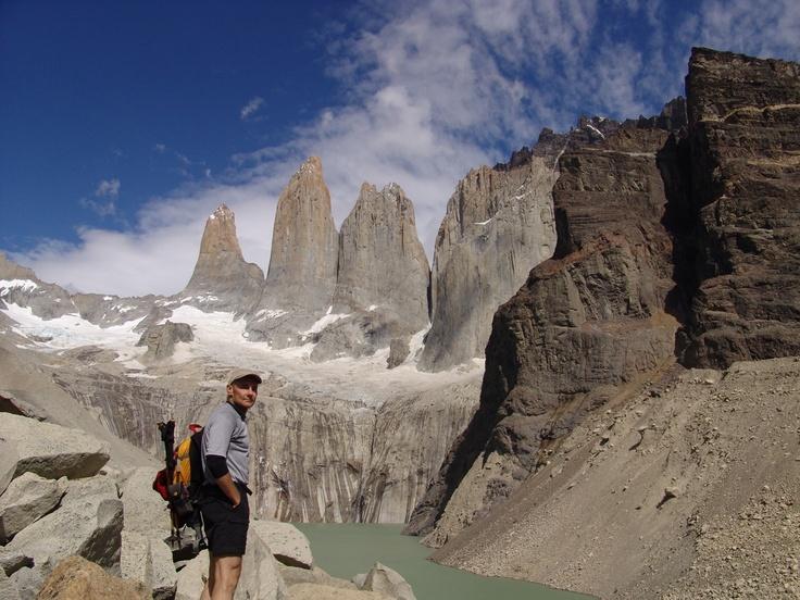 Aquí están, las famosas Torres del Paine.