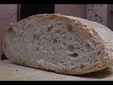 Хлеб без замеса теста Чиабатта в духовке - YouTube