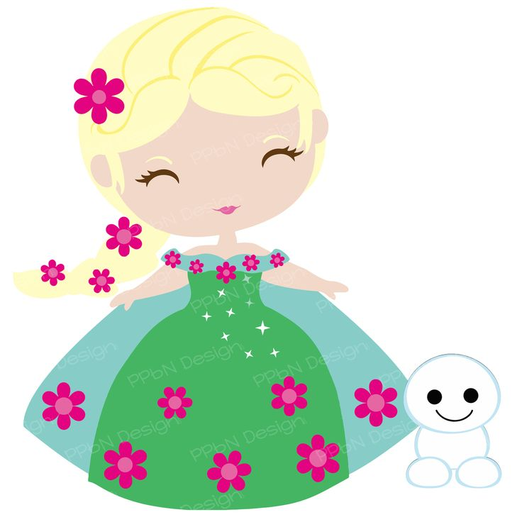 SVG File Frozen Fever Elsa clipart