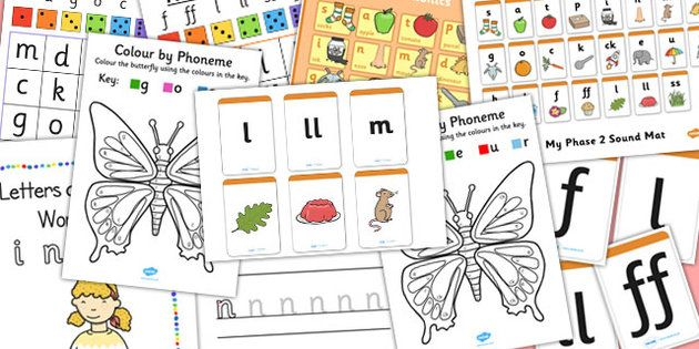 Teaching Assistant Phase 2 Phonics Resource Pack