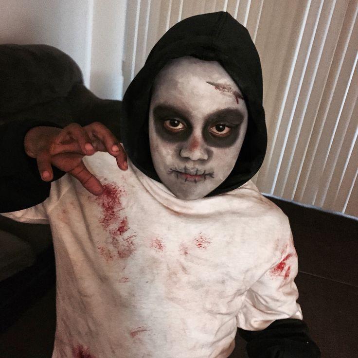 kid friendly halloween makeup