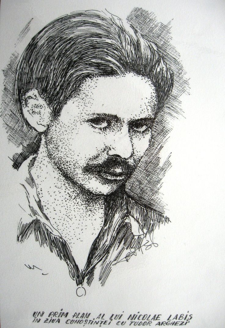Poetul Nicolae Labiș Art by Constanta Abalasei-D