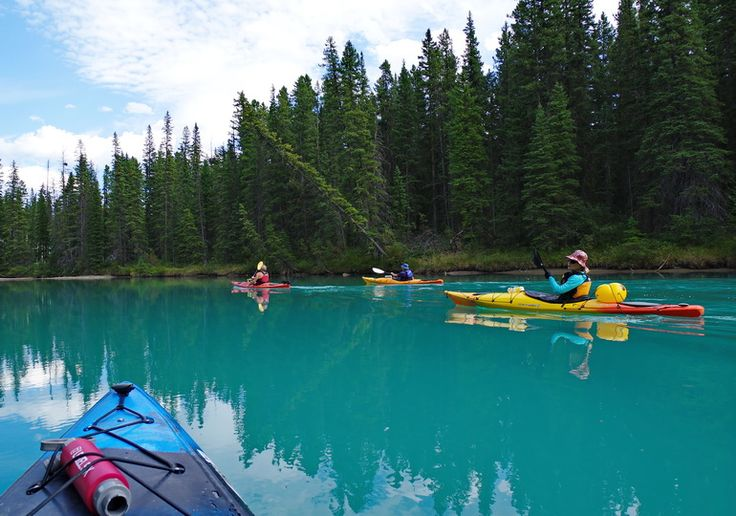 Done in a Day: Kayaking the Beautiful Bow River in Banff