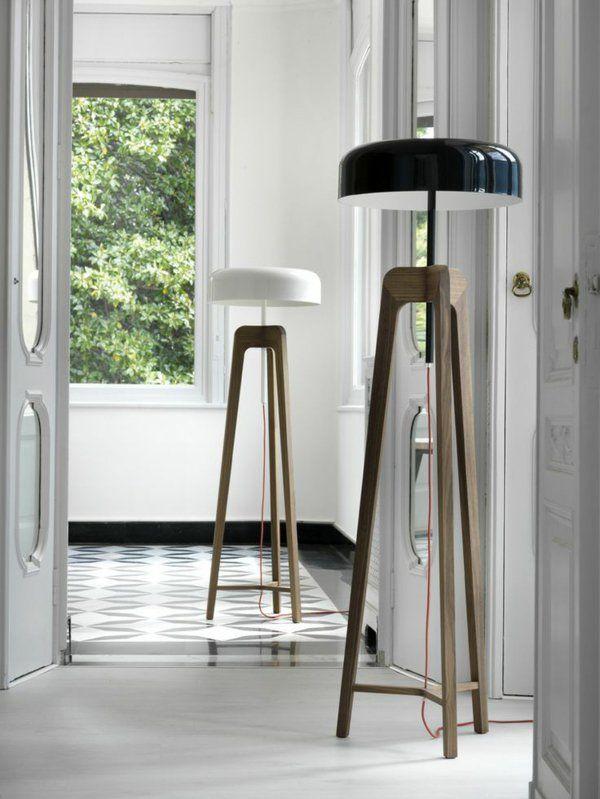 die besten 25 lampenschirm stehlampe ideen auf pinterest. Black Bedroom Furniture Sets. Home Design Ideas