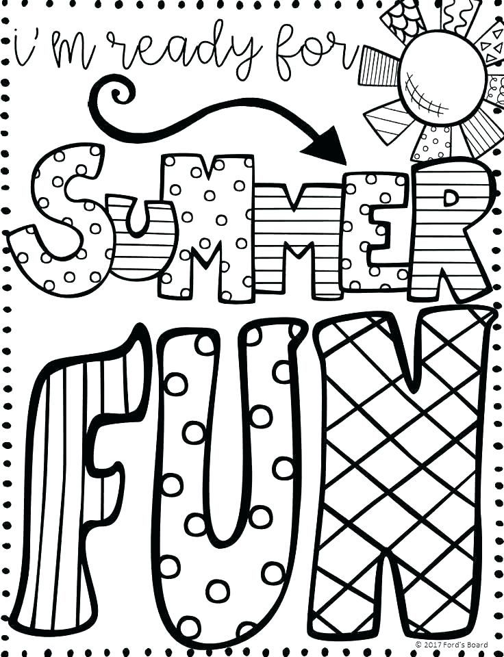 Pin By Jessica Moser On June School Coloring Pages Summer Coloring Sheets Summer Coloring Pages