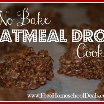 Remember making these when we were little?  They were the best cookies in the world!  No Bake Oatmeal Drop Cookies  Yum! (HEAPING 1/2  cup of peanut butter, 2 1/2 cups oatmeal instead of 3)