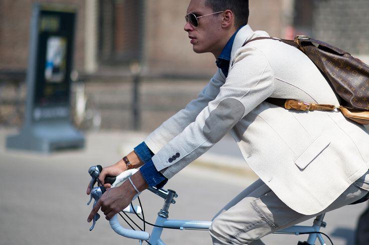 Streetsnaps: Milan Fashion Week 2013 Spring/Summer Part 2.: Men S Style, Bike, Men S Fashion, Mens, Week 2013, Photo, Milan Fashion Weeks