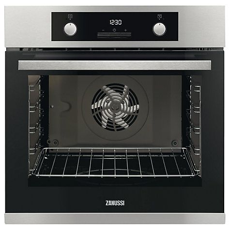 Buy Zanussi ZOA35972XK Built-In Electric Single Oven, Stainless Steel Online at johnlewis.com
