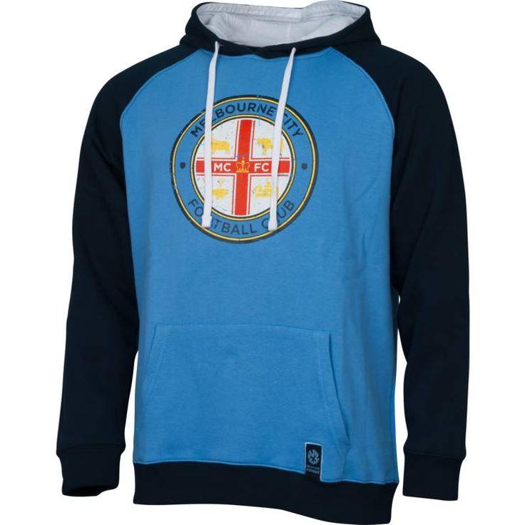 Melbourne City FC 2014/15 Men's Club Hoodie - Fangear.com