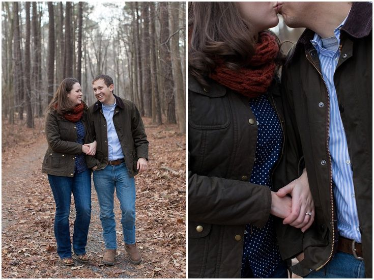 Nature Engagement Session. Eastern Shore Maryland Wedding Photography. Laura's Focus Photography.