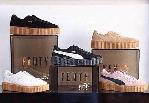 Puma x Rihanna 'Fenty' Collection.