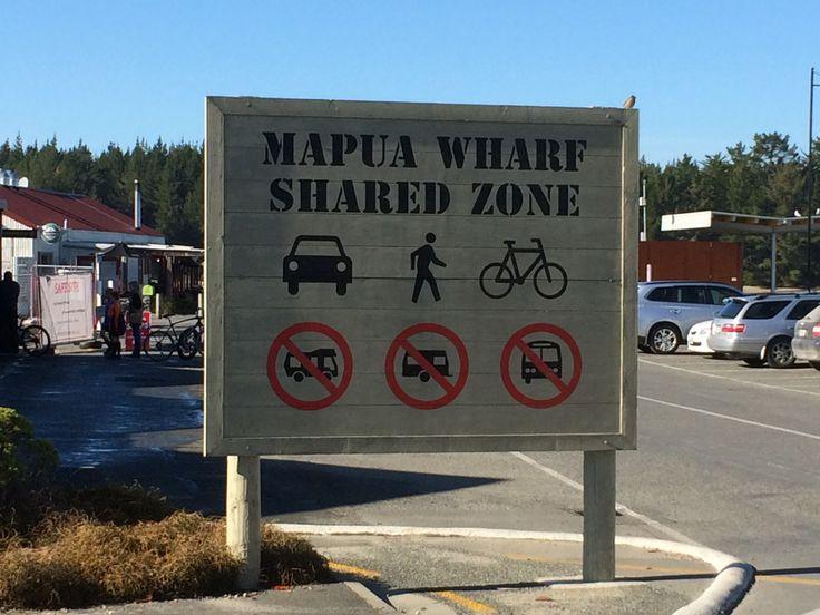 Mapua Wharf Entry