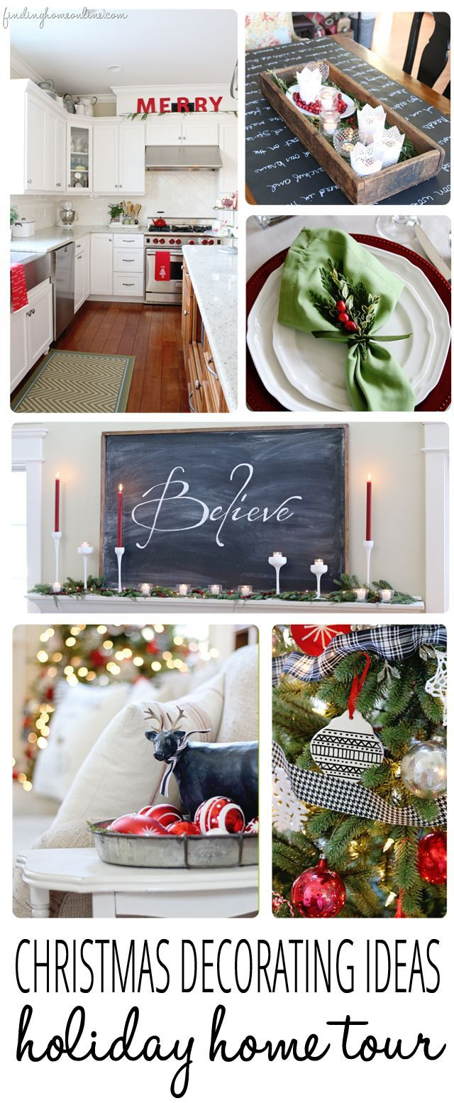 27198 best christmas images on pinterest christmas ideas christmas crafts and holiday ideas - Luxury homes decorated for christmas model ...