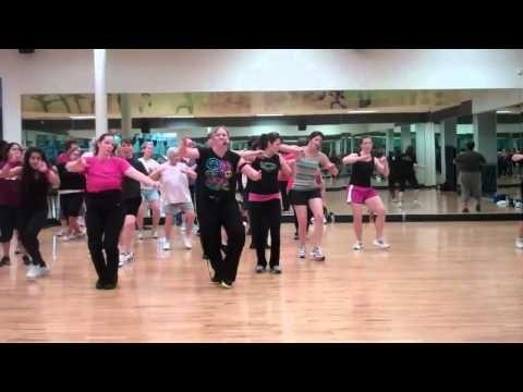 Cardio Dance Girls On The Dance Floor Cardio Zumba