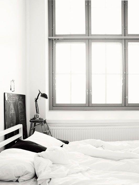 .Home Interiors, Big Windows, Bedrooms Design, Design Interiors, Interiors Design, Black White, Design Bedrooms, Bedrooms Interiors, Design Home