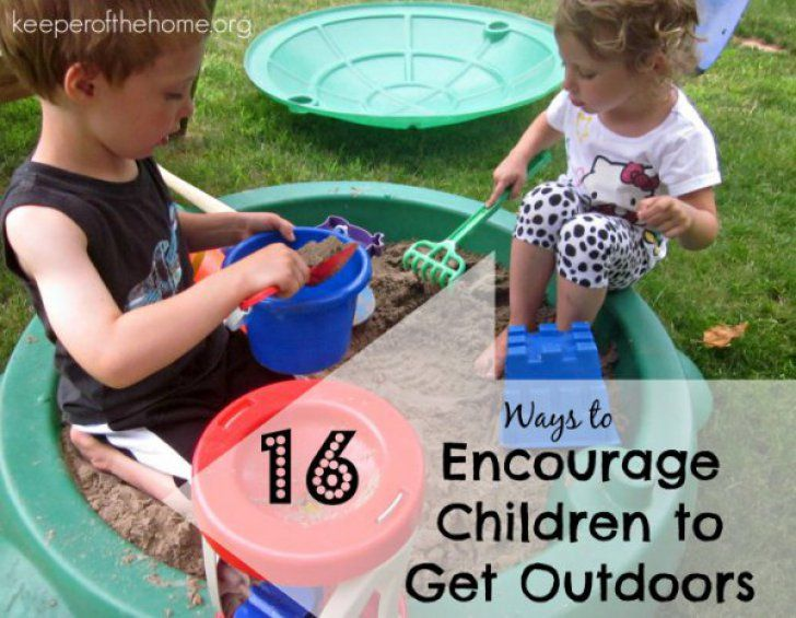 16 Ways to Encourage Children to Get Outdoors {Keeper of the Home}