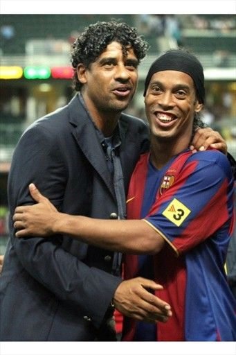 Ronaldinho i Rijkaard