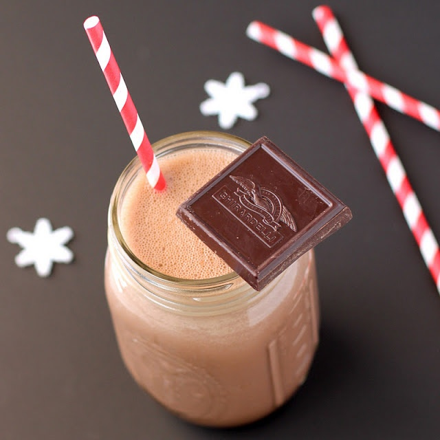 Healthy Homemade Chocolate Muscle Milk