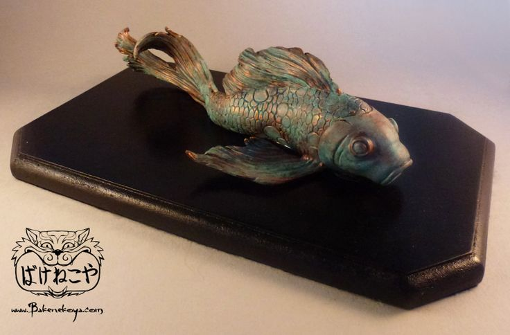 17 best images about sculpey clay on pinterest studios for Clay koi fish