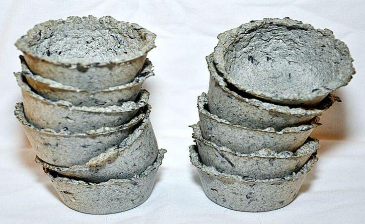 Faça você mesmo: vasinhos de papel reciclado para sementes