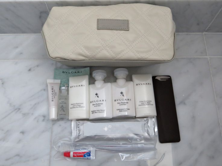 Best First Class Airline Amenity Kits