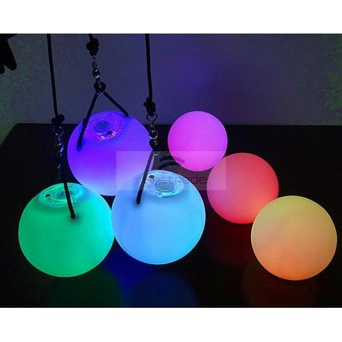 LED Poi Ball (Different Flashing Modes and Optional Colors,LED Glow Poi) [BLL-POI-02A] - USD1.76 : ImmiTrade Global
