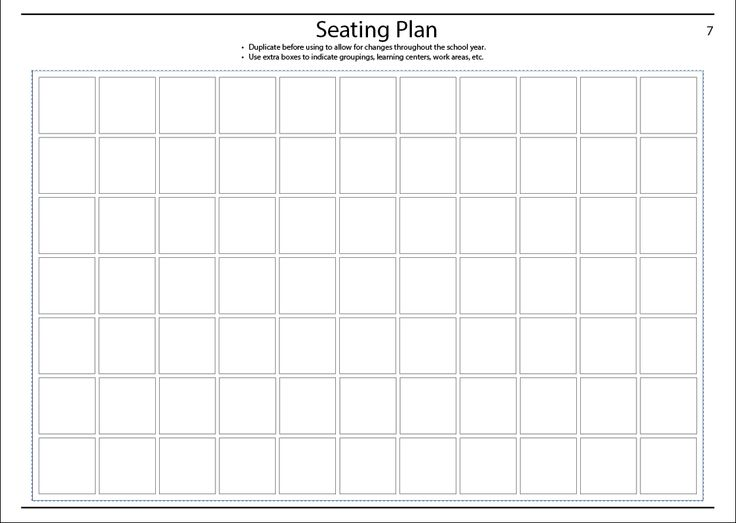 The  Best Seating Chart Classroom Ideas On