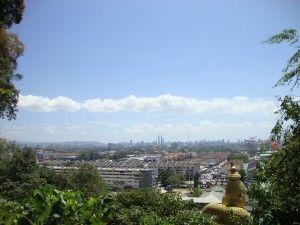 View from the Batu Cave - Kuala Lumpur, Malaysia - 2013