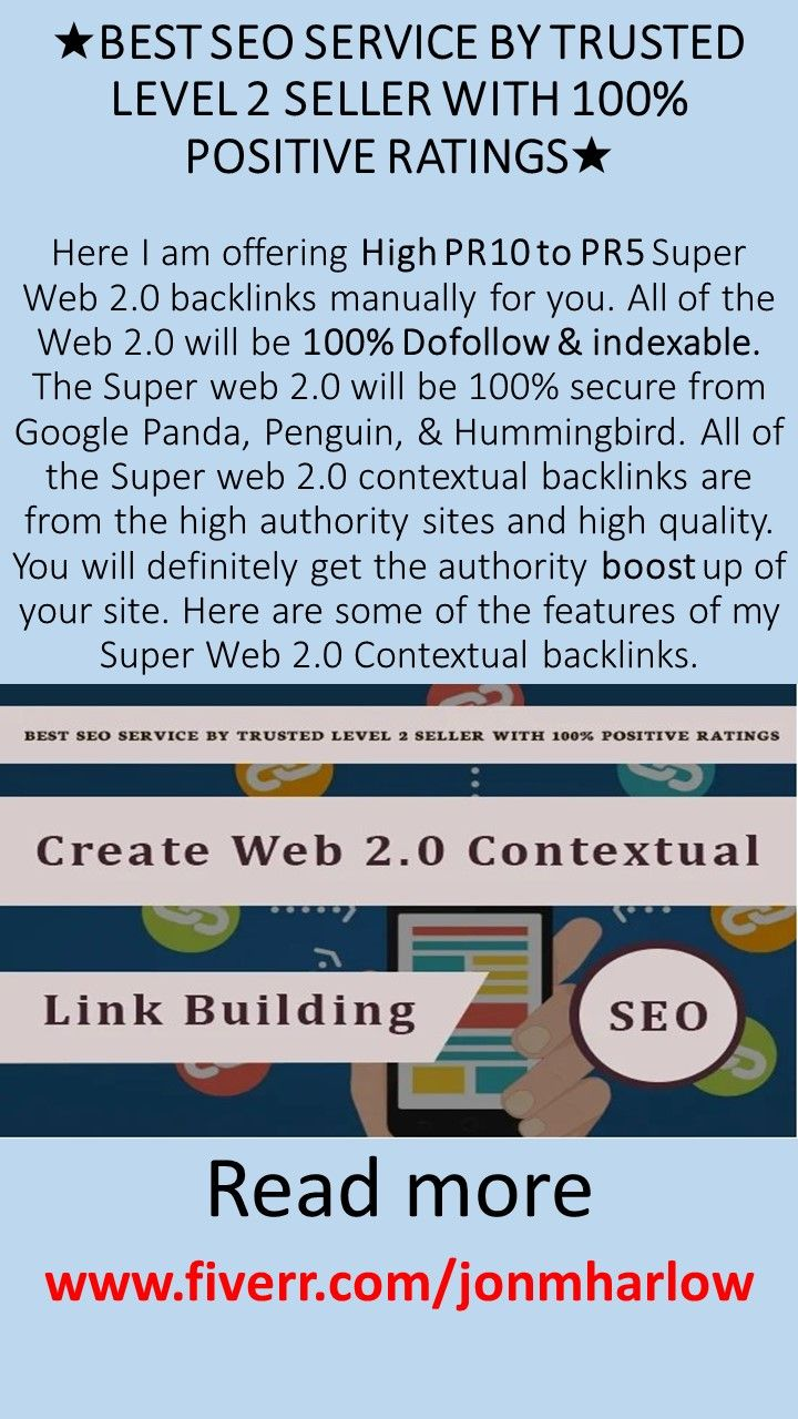How To Create Web 2 Contextual Link Building For Your Seo Backlinks Best Seo Services Link Building