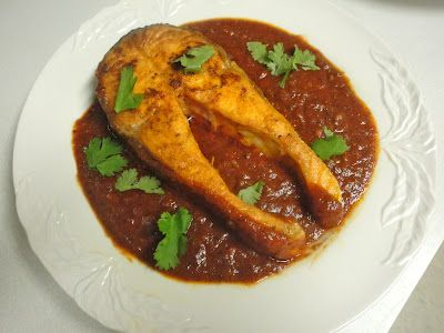 Ottolenghi's Salmon Steaks with Spicy Tomato Sauce