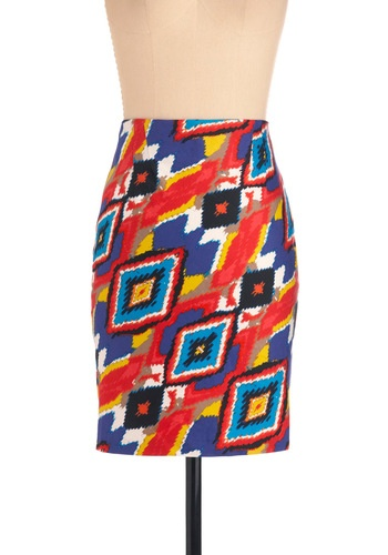 Celebrate in Color skirtStyle, Colors Skirts, Bold Skirts, Pencil Skirts, Bright Skirts, Modcloth Celebrities, Modcloth Com, Bright Colors, Skirts Modcloth