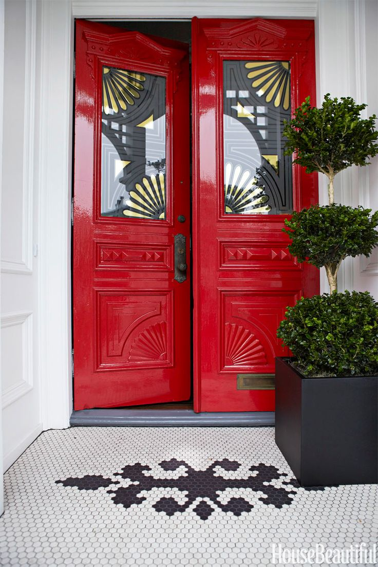 178 best images about fabulous front door colors on pinterest - What color to paint front door ...