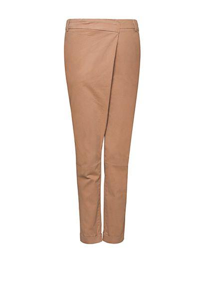 MANGO - Pantalón tobillero