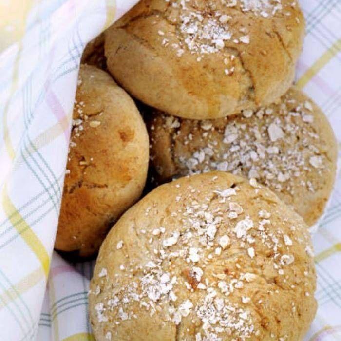Frukostbröd med honung och havre