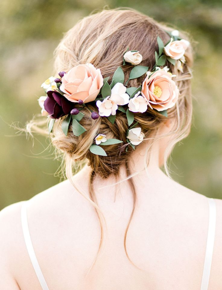 WIN these paper flowers from Handmade by Sara Kim's 2017 Collection on Green Wedding Shoes!