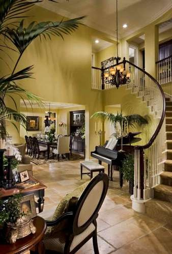 Attractive A Grand Staircase In This New Home From Brookfield In San Diego