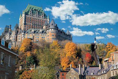 Fairmont Chateau Frontenac in Quebec City