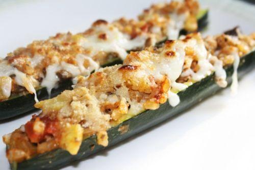Recetas para cenar: Calabacines rellenos