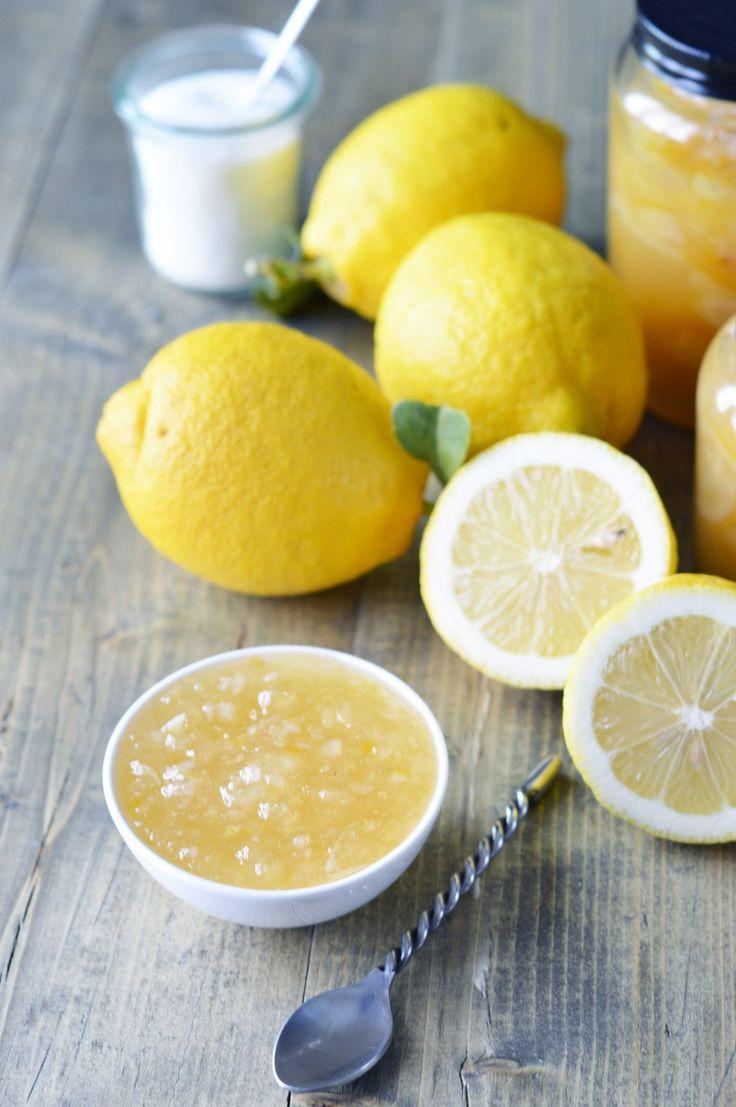 Marmellata di limoni: Per la #colazione o la #merenda non c'è niente di meglio che gustare una buonissima #marmellata di #limoni: ecco la mia ricetta! #kenwoodclub