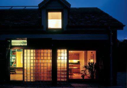 Maggie's Edinburgh: Building Exterior At Night