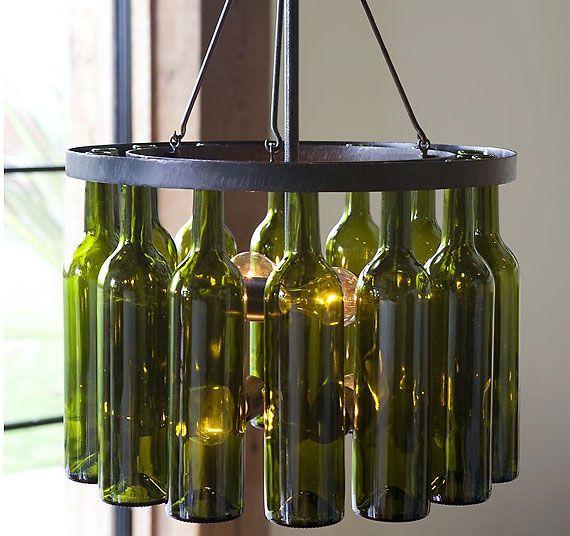 Bottle Chandelier Kit: 25+ Best Ideas About Wine Bottle Chandelier On Pinterest
