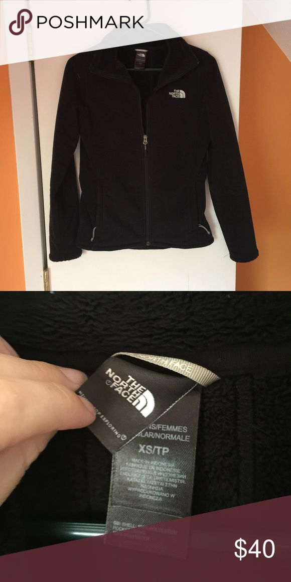The North Face Jacket North face black fleece jacket. Size XS. Smoke free home. Fast shipping. Discounts on bundles. The North Face Jackets & Coats
