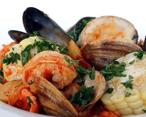 Italian seafood stew by Sara's Kitchen, via Flickr