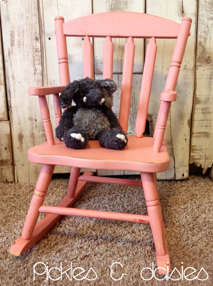 Pickles & Daisies Little Kid Rocking Chair - {$40} This beauty was ...