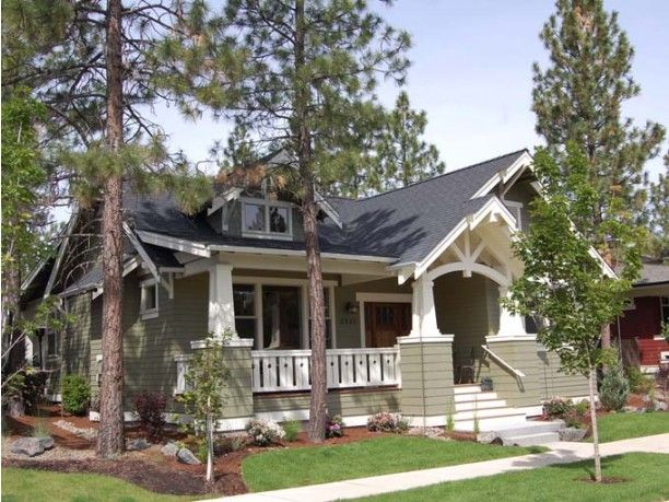 25 best ideas about craftsman front porches on pinterest for Eplans craftsman bungalow 11192