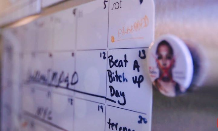 Joanna Jedrzejczyk's reminder on her calendar! #FightWeek #UFC211 #mma #ufc